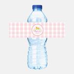 Su Şişesi Etiketi